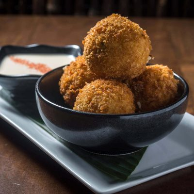 Wasabi Fritters