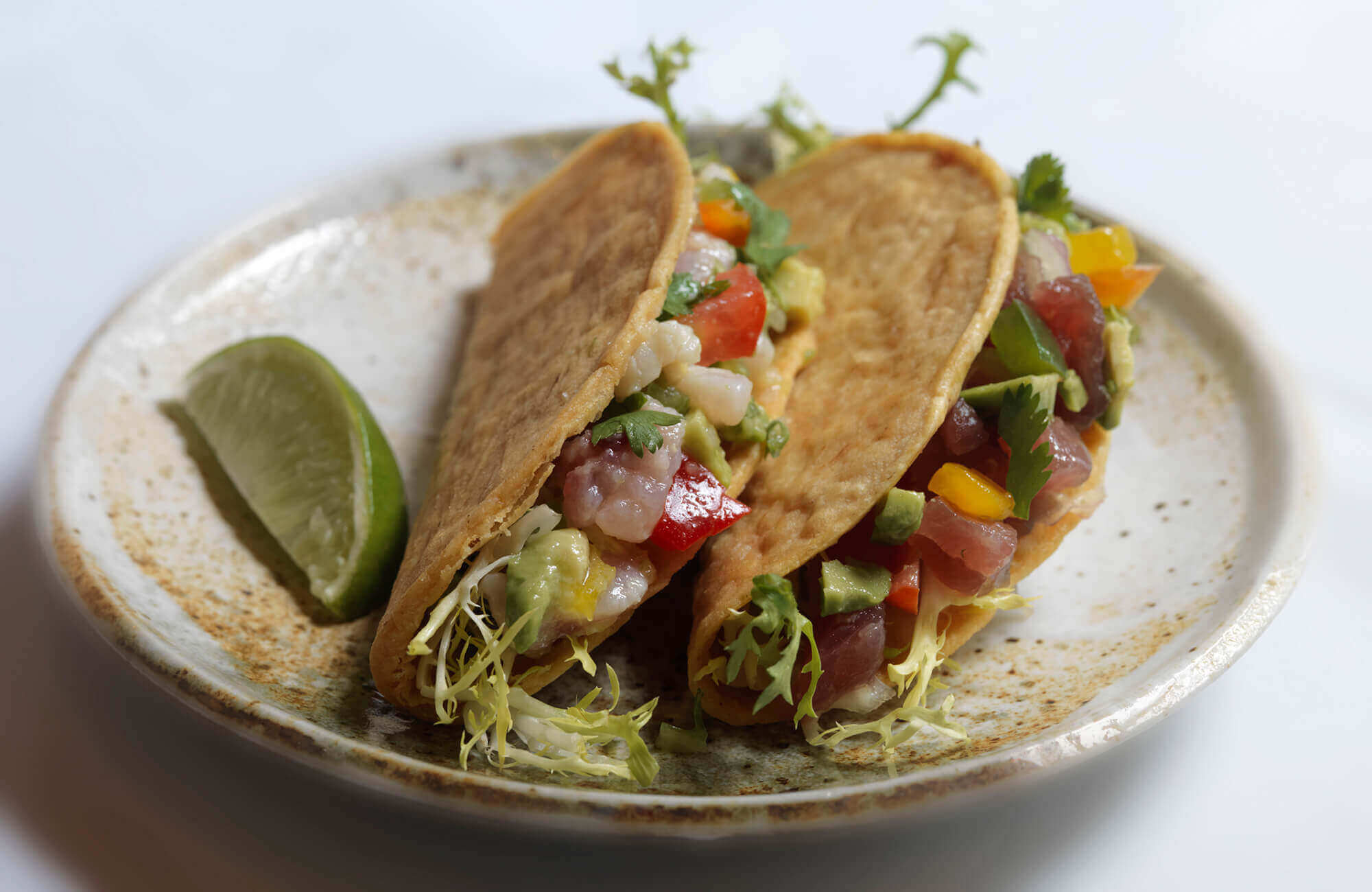 *Ceviche Tacos