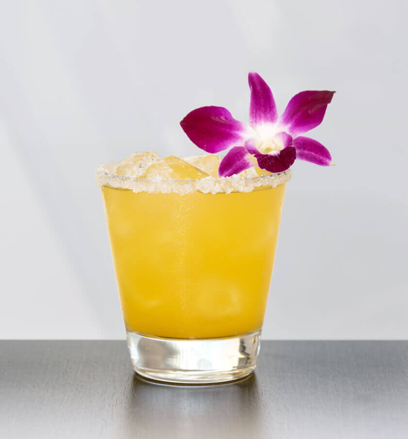 Passion Fruit & Elderflower Margarita