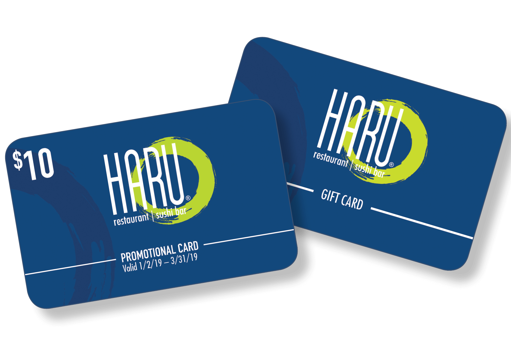 Holiday Haru Gift Cards