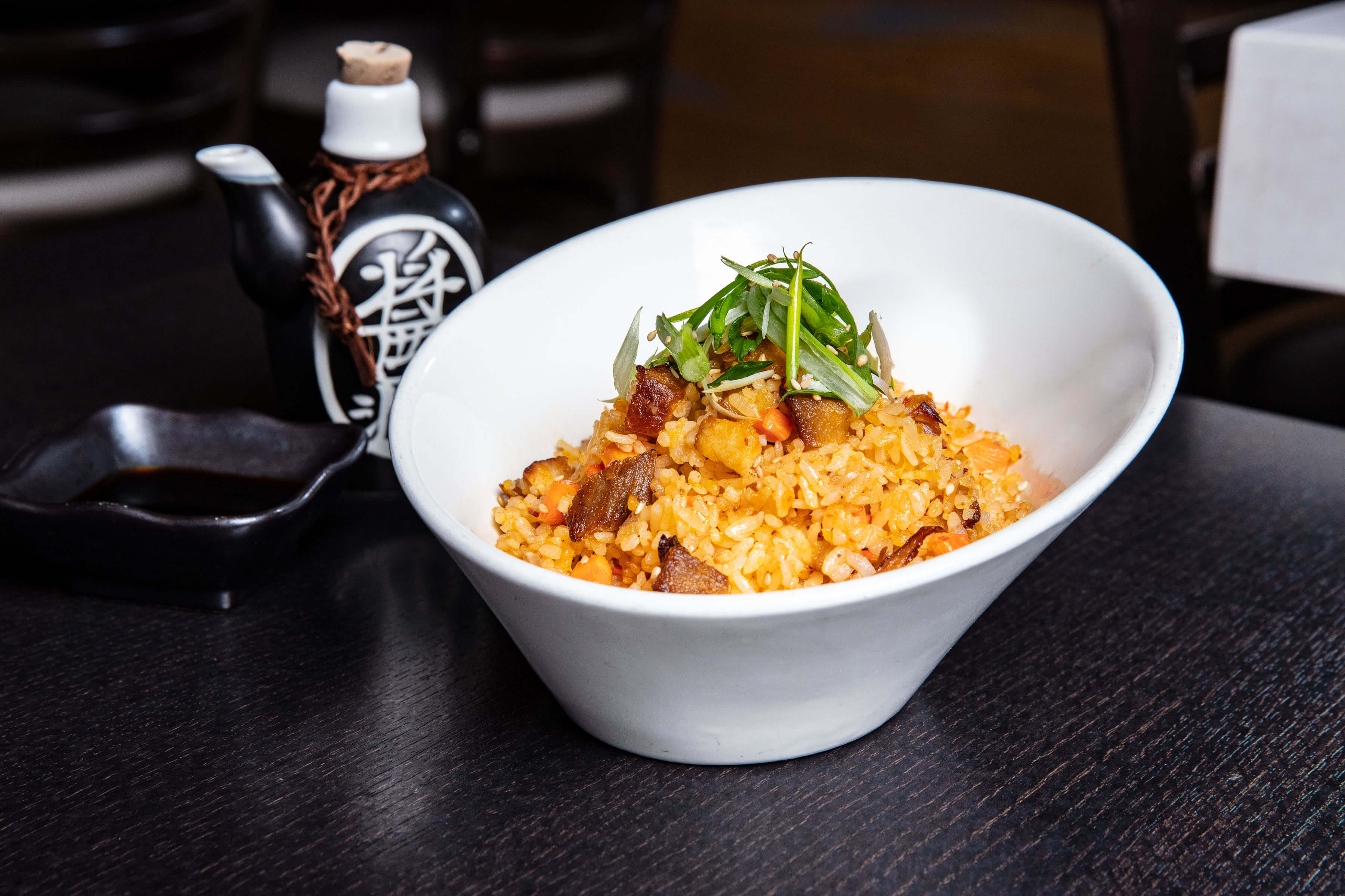Spicy Pork Belly Fried Rice