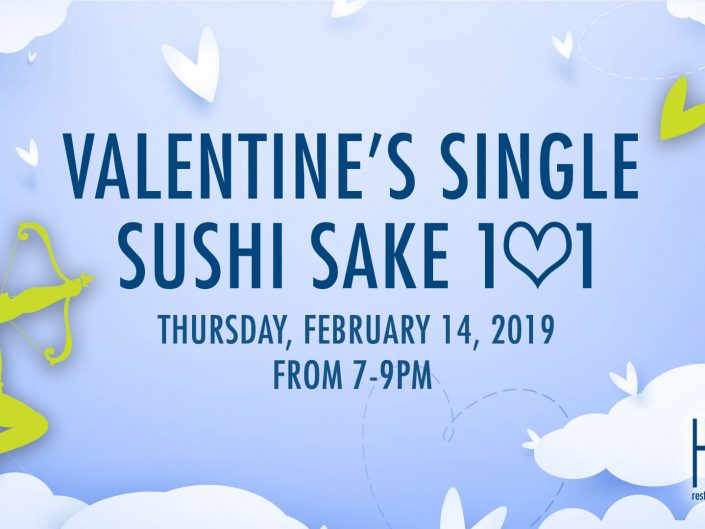 Valentine's Day Sushi Sake 101