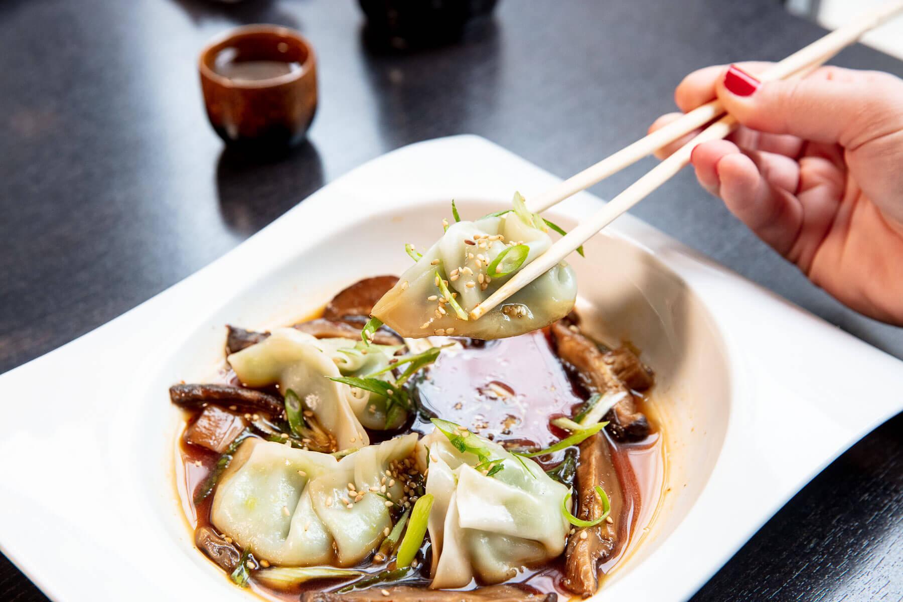Lifestyle: Edamame Dumplings