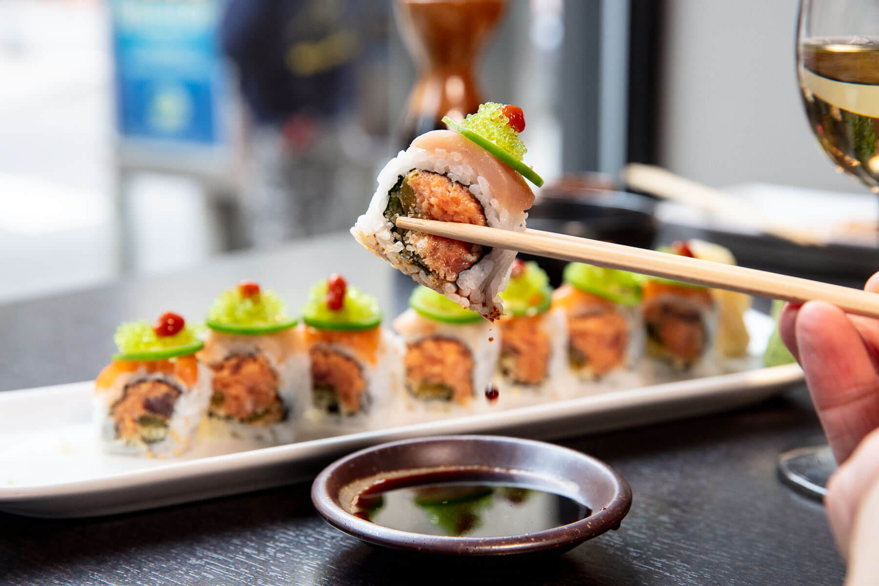 Lifestyle: Kiss of Fire roll