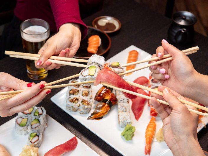 Sushi cheers